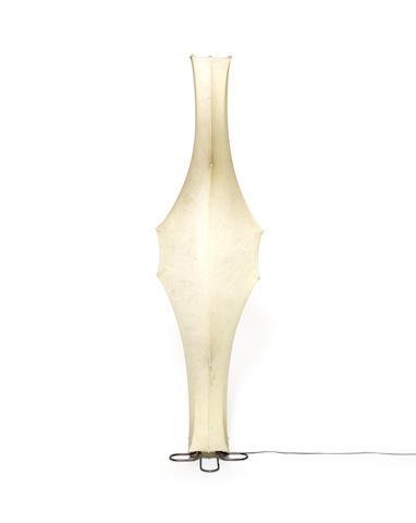 Tobia Scarpa for Flos, a 'Fantasma' floor light, designed 1962