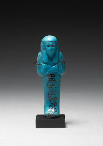 An Egyptian 21st dynasty shabti