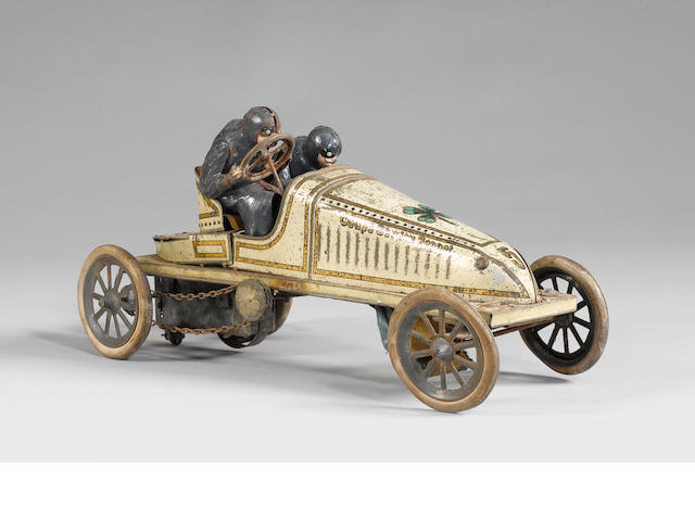 Guntherman Gordon Bennet racing car with 2 drivers