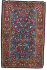 A pair of Kashan rugs Central Persia, 6 ft 8 in x4 ft 5 in (202 x 135 cm)