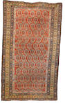 A Feraghan rug West Persia, 6 ft 3 in x 3 ft 8 in (192 x 113 cm)