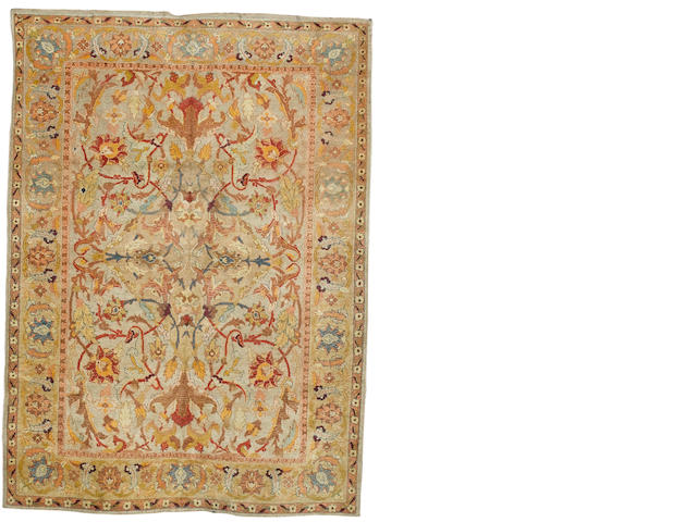 An Amritsar carpet North India, 7 ft 10 in x 5 ft 8 in (239 x 173 cm)