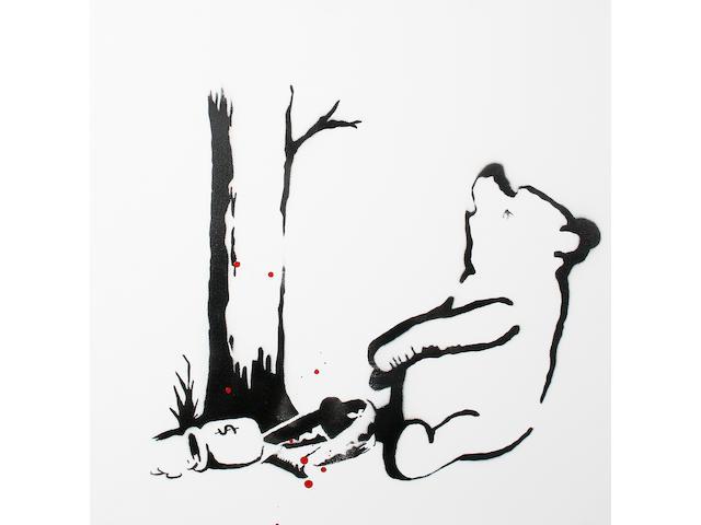Banksy (British, born 1975) 'Winnie the Pooh', 2003