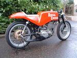 1965 Royal Enfield GP5 250cc Racing Motorcycle Frame no. GP65 Engine no. R119