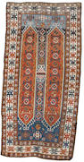 A South Caucasian rug 8 ft 7 in x 4 ft 4 in (262 x 133 cm)