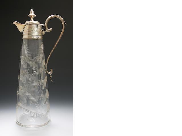 A Regency style teapot London, 1899