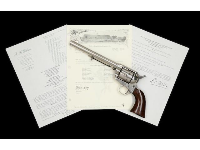 A Rare .44 Colt Single-Action Army Rim-Fire Revolver
