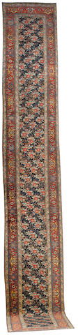A Bidjar runner Persian Kurdistan, 21 ft 6 in x 3 ft 4 in (656 x 101 cm) excellent condition