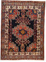 An Afshar rug South West Persia,  5 ft 9 in x 4 ft 3 in (174 x 130 cm)slightly traces of use,overall good condition