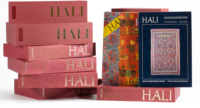 A complete boxed set of Hali magazines, vol. 1 no. 1  through 102 inc. offered in good condition
