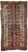A Kashgai rug South West Persia, 7 ft 11 in x 4 ft 3 in (242 x 130 cm)damage
