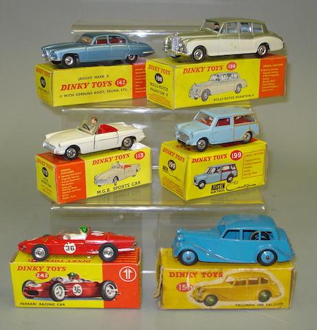 Dinky cars 6