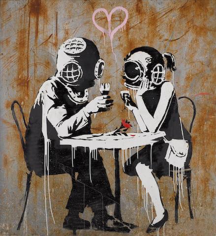 Banksy (British, born 1975) 'Think Tank', 2003