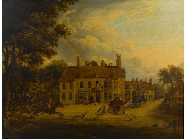 English School, early 19th Century John Gilpin's Ride,