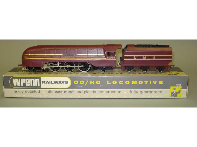 Wrenn W2302 Coronation LMS red King George VI
