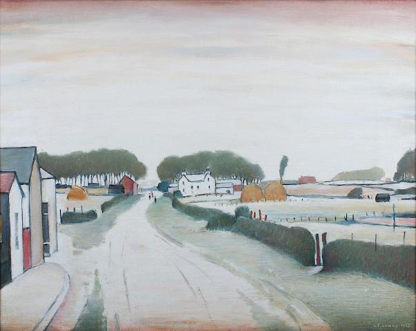 L S Lowry - Lytham Landscape