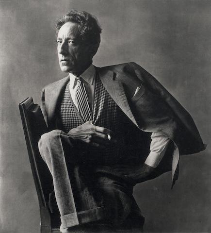 Irving Penn (American, born 1917) Cocteau