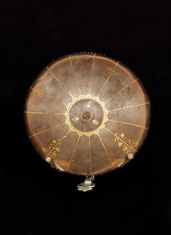 A fine Safavid gold damascened steel Helmet Persia, 17th Century