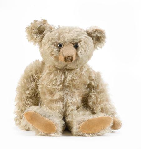 Large Helvetic musical Teddy bear, 1920's