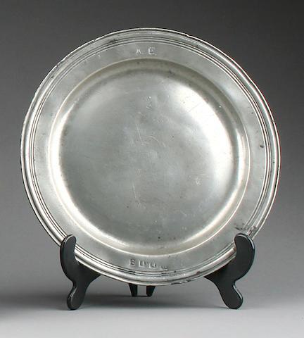 A triple reed plate, circa 1690