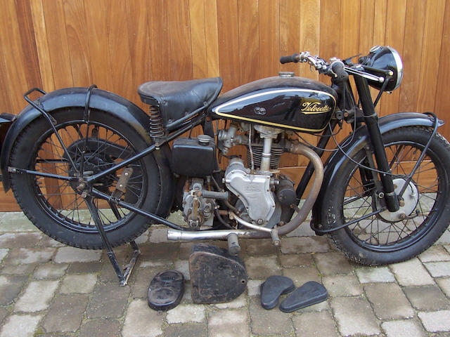 1939 Velocette 349cc MAC Frame no. GMX 416 Engine no. MAC 11845