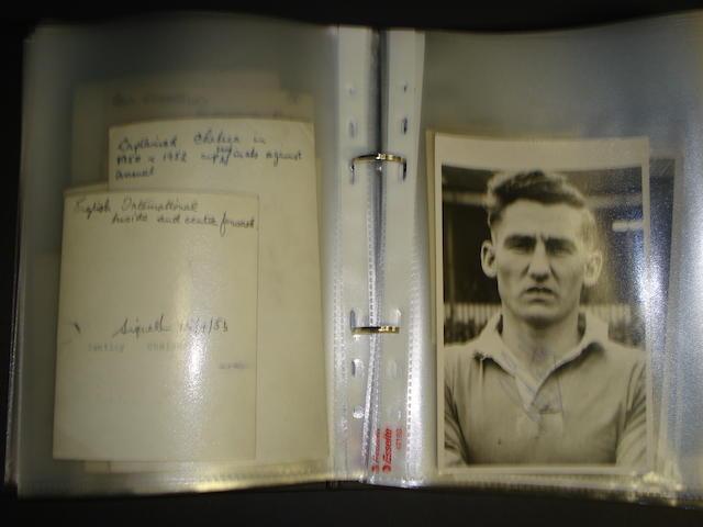 Folder of football photographs circa 71