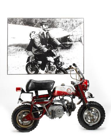 John Lennon/Ringo Starr: a Honda 160Z Monkey Bike, circa 1970,