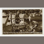 A small collection of postcards including a selection of Boy Scouts,  Third World Rover Scout Moot, Jamboree, etc., F-EX.