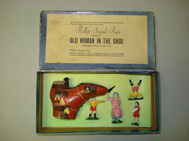 Segal Nursery Rhyme Series: Old Woman in the Shoe 5
