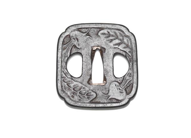 A Yagyu tsuba, Middle Edo period