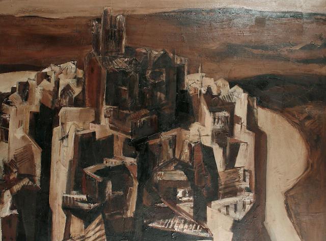 Anthony Whishaw RA (British, born 1930) Arcos de la Frontera