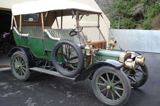 1910 Adler 12hp Four Seat Tourer  Chassis no. 2908 Engine no. 2911K