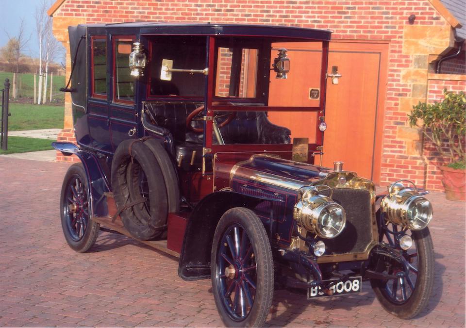1904 Société Manufacturiere d'Armes 24/30hp Open Drive Landaulette  Chassis no. 5063 Engine no. 9869