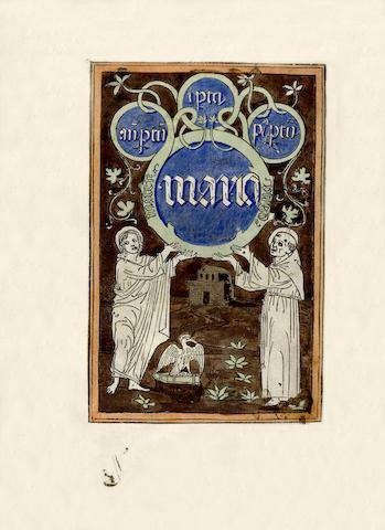 FRANCIS of ASSISI, Saint Opera devotissima & utilissima a tutti li fideli christiani: la qual se chiama li fioreti de misser Sancto Fra[n]cesco