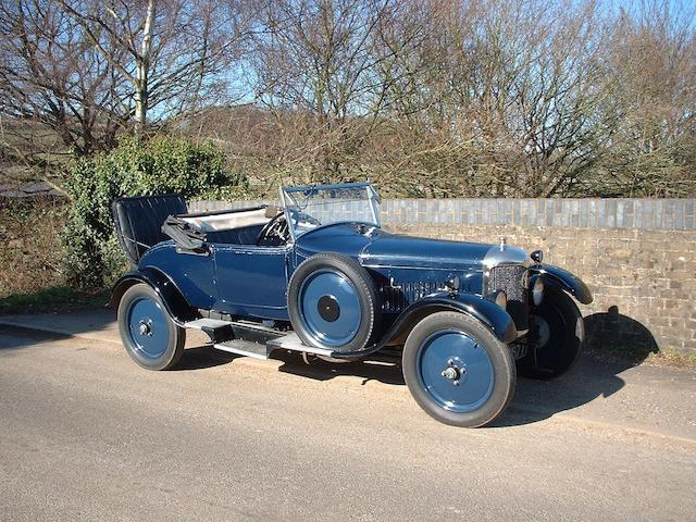 1925 AC Royal 16/40hp 2-litre Two-seater and Dickey  Chassis no. 13476 Engine no. E2 MB 3064