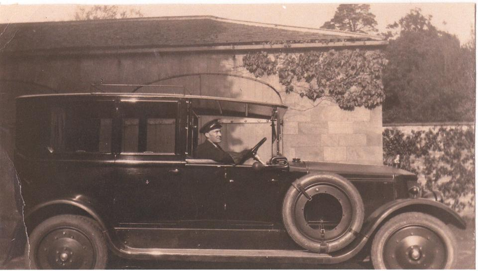 One family ownership from new,1920 Armstrong-Siddeley 30hp Series E 5-Litre Open Drive Limousine  Chassis no. 1936E Engine no. 13221