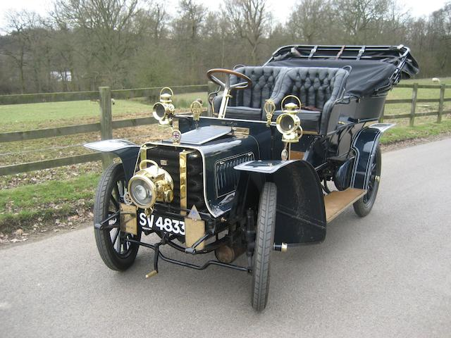Offered with London to Brighton Veteran Car Run 'Grandfather Rights',1905 Sunbeam 12/14hp Four-cylinder Five Seat Side-Entrance Tonneau 260