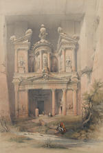David Roberts, RA (British, 1796-1864) A set of lithographs from The Holy Land series: 5 full folio,