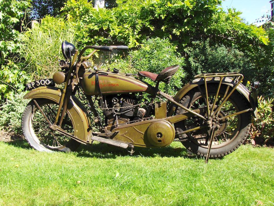 1926 Harley-Davidson Model J Engine no. 26J 6127