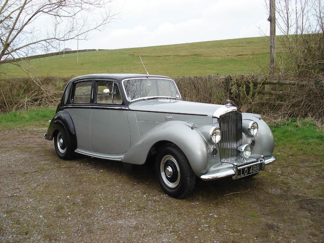BDC and RREC Concours Class-Winning,1950 Bentley MkVI Saloon  Chassis no. B42JO Engine no. B21J