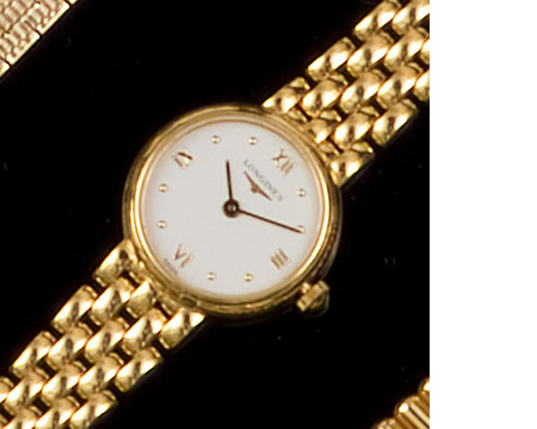 Rolex: An 18ct gold lady's wristwatch