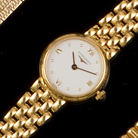 Rolex: An 18ct gold lady's wristwatch