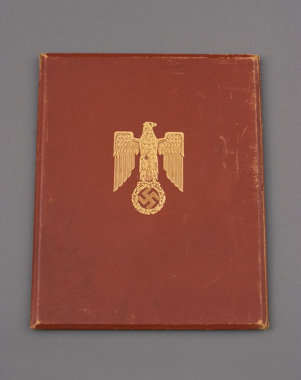 A Rare Formal Award Document Of A Knight's Cross to the Iron Cross Awarded to Oberfeldwebul Karl Hausmann