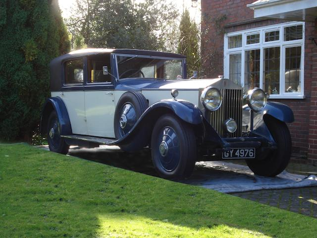 1932 Rolls-Royce 40/50hp Phantom II Sedanca De Ville  Chassis no. 171GN Engine no. BH85