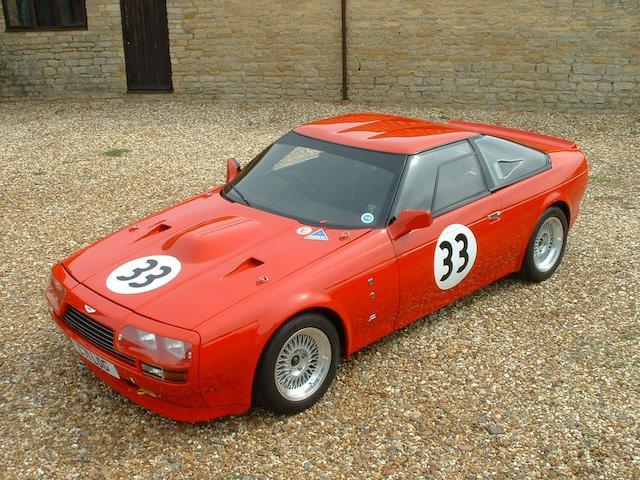 The Rowan Atkinson, Works Service prepared and first right-hand drive,1986 Aston Martin V8 Vantage Zagato Coupé  Chassis no. V8IZXGTR 20013 Engine no. V/580/0013/X(R)