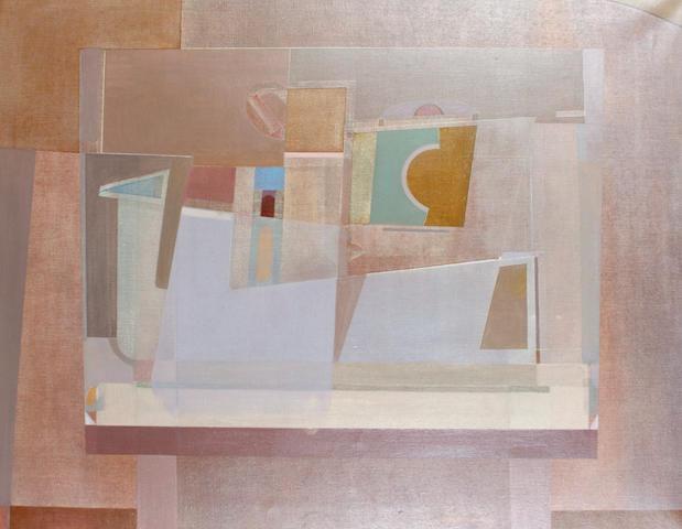 James Cumming (Scottish, 1922-1996) In a still room (June Evening) c.1964