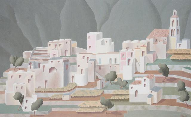 John Armstrong (British, 1893-1973) Mediterranean Landscape