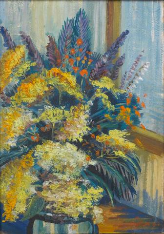 Martiros Sergeevich Saryan (Armenian, 1880-1972) Flowers in a vase