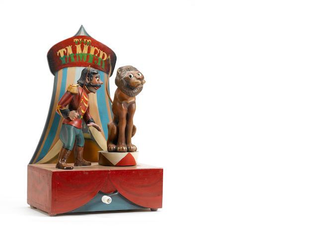 Frank Nelson, Lion Tamer automata