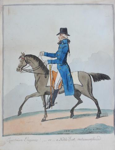 James Gilray Pl. 25 x 20.5cm.